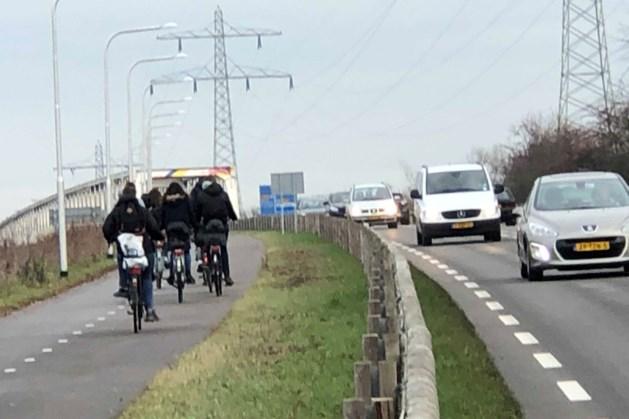 Provincies betalen onderzoek verbreding fietsverbinding over Maas