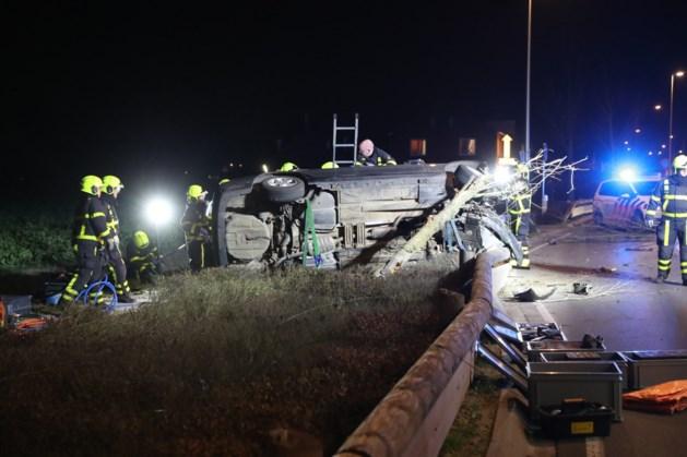 Drie personen gewond bij ernstig ongeval in Stramproy
