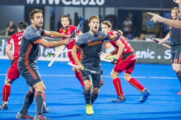 Hockeyers verliezen WK-finale van België