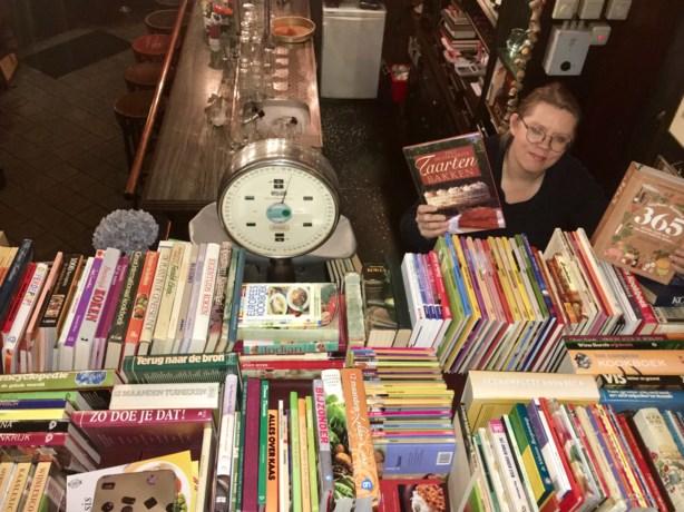 Meer dan 2000 tweedehands kookboeken in de ramsj