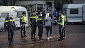 Woonwagenbroers in Landgraaf weer weggesleept na noodbevel