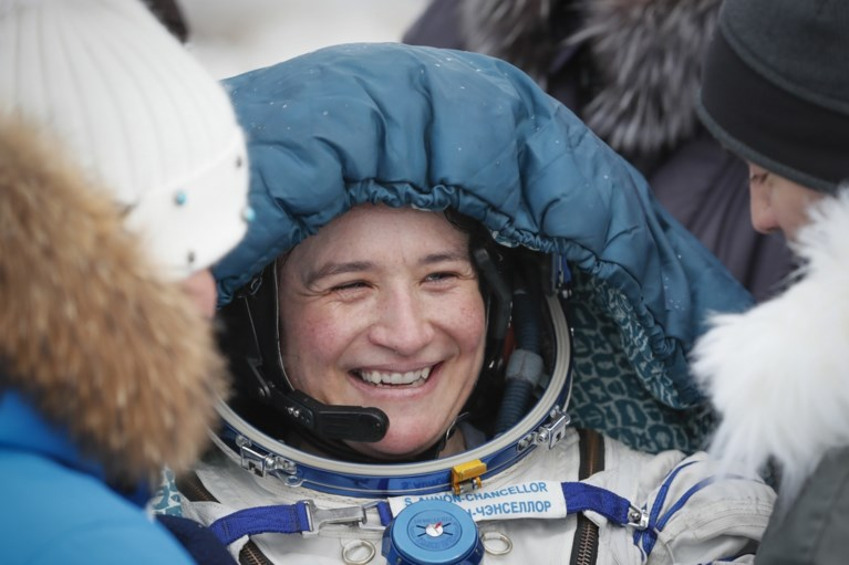 Astronauten ISS veilig geland op aarde