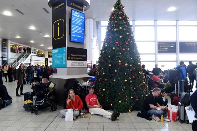 Weer beperkt vliegverkeer op Gatwick na droneterreur