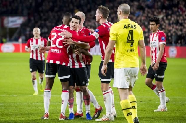 PSV als koploper de winterstop in