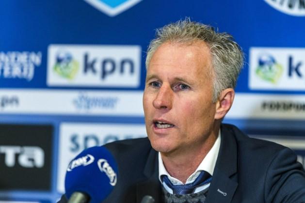 Fortuna-trainer Eijer woedend over rode kaart: 'schandalig'