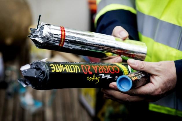 Al meer verboden vuurwerk in beslag genomen dan in 2017