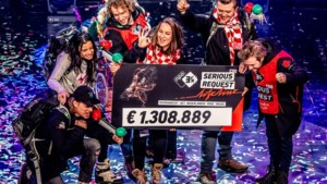 Teller Serious Request nieuwe stijl eindigt op 1.308.899 euro
