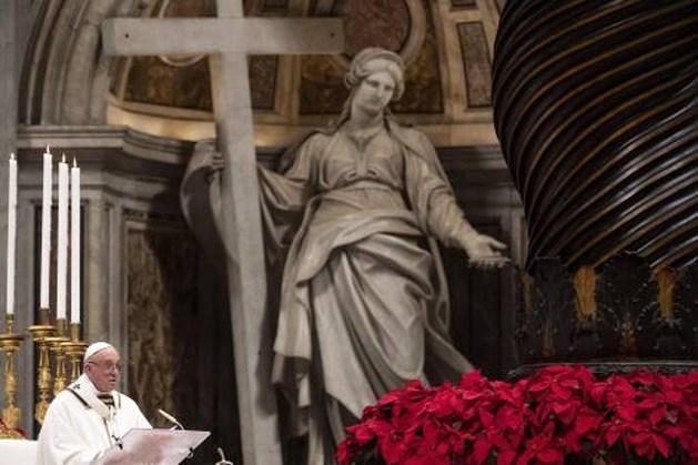 Paus roept op tot vrede in Jemen en Syrië