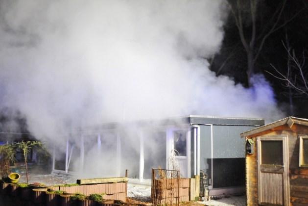 Fikse brand laat sporen na op recreatiepark in Soerendonk