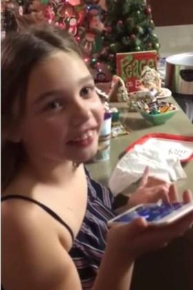Meisje (7) na uitglijder Trump: ik geloof nog steeds in kerstman