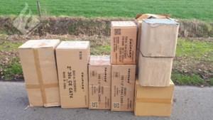 157 kilo zwaar en illegaal vuurwerk gevonden in auto in Valkenswaard
