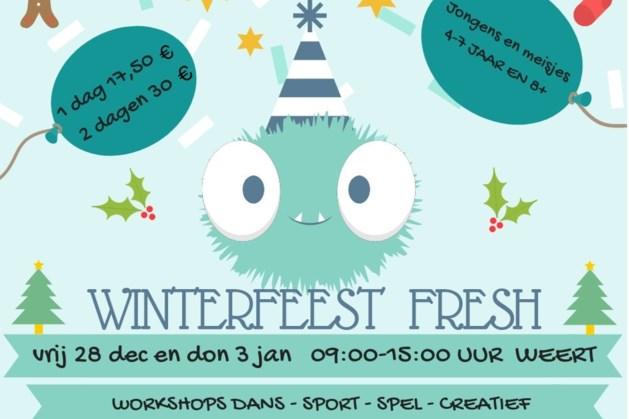 Winterfeest bij Perron 8