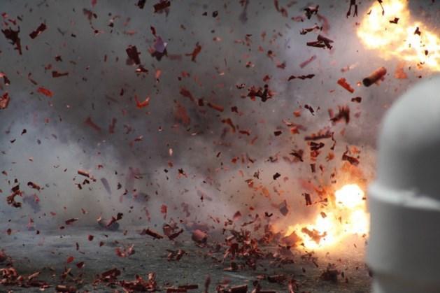 Ruiten sneuvelen door vuurwerkbom in Heerlen