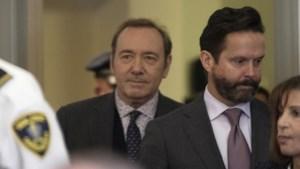 Acteur Kevin Spacey zwijgt op rechtbankzitting