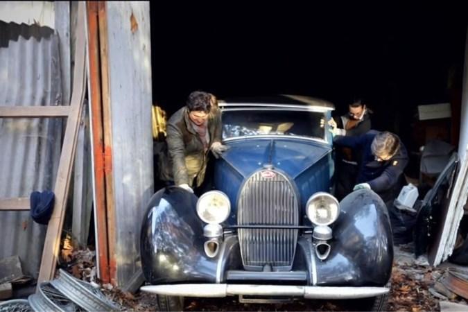 Een eind aan de mythe van de verborgen Bugatti's