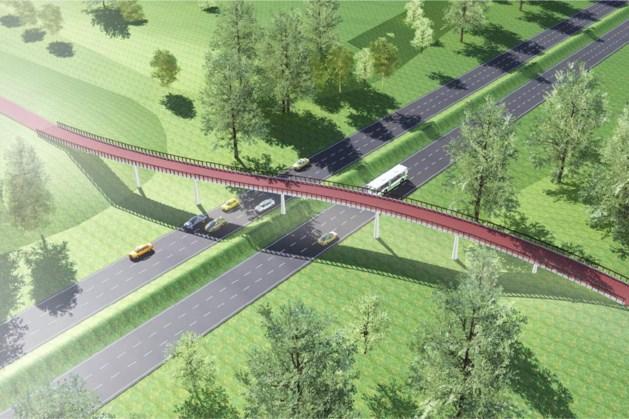 Fietsbrug over Greenportlane moet einde maken aan onveilige verkeerssituaties