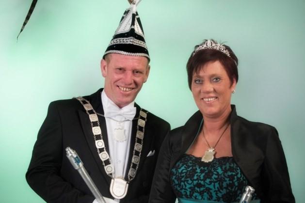 Prins Loek en prinses Nicole regeren in Schaesbergerveld