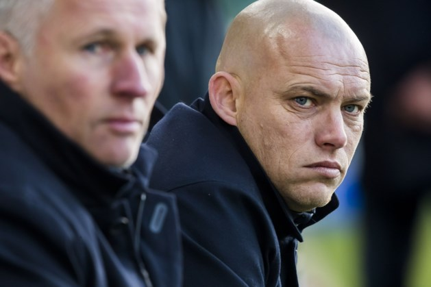 Fortuna-coach Eijer na afstraffing: 'Een schandalige vertoning'