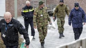 Handgranaten veiliggesteld, situatie onder controle