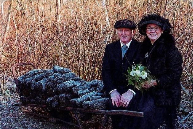 Mart en Anja boerenbruidspaar van Griendtsveen