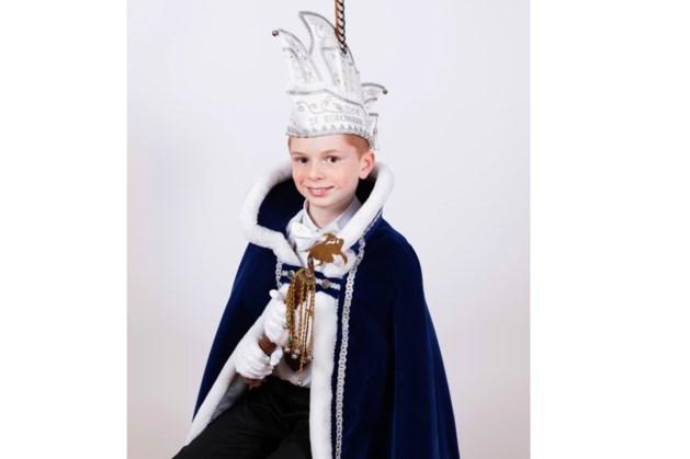 Lukas van Hooy jeugdprins van de Borchgrave uit Roosteren