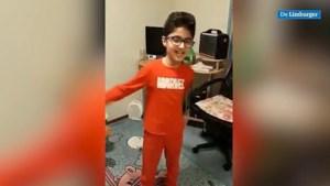 Video: Nemr (9) uit Irak blij met kinderpardon: 'Hoera, het is gebeurd'