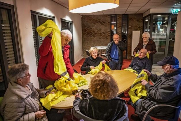 Route gele hesjes in Maastricht van Stadionplein naar Plein 1992