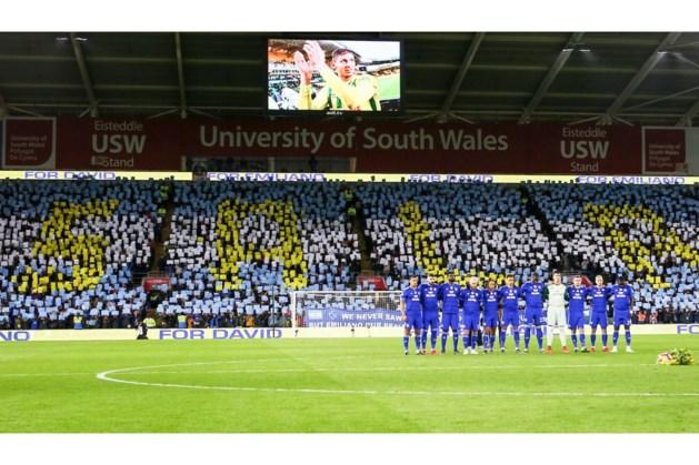 Cardiff City wint voor vermiste teamgenoot Sala