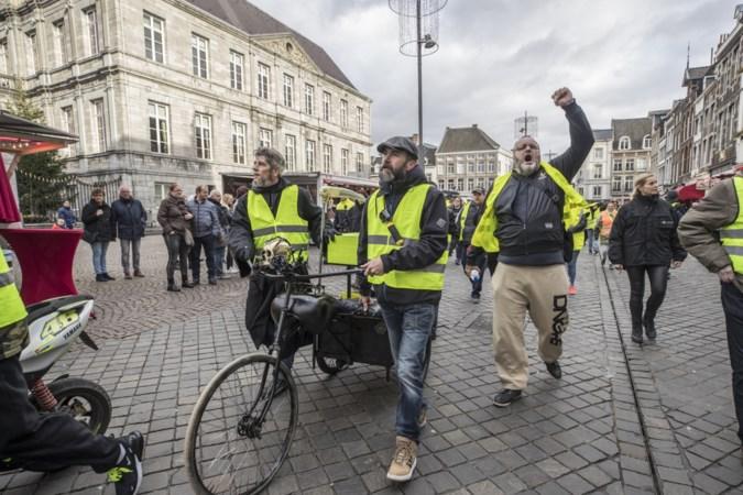 Organisatoren 'gele-hesjeswandeling' Maastricht: als er minder dan 500 mensen komen, dan kappen we er mee