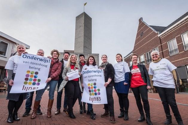 Protest in Noord-Limburg: schooldirecteuren zoeken het 'hogerop'
