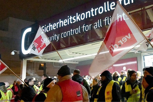 Reizigers opgelet: donderdag stakingen op luchthaven Düsseldorf