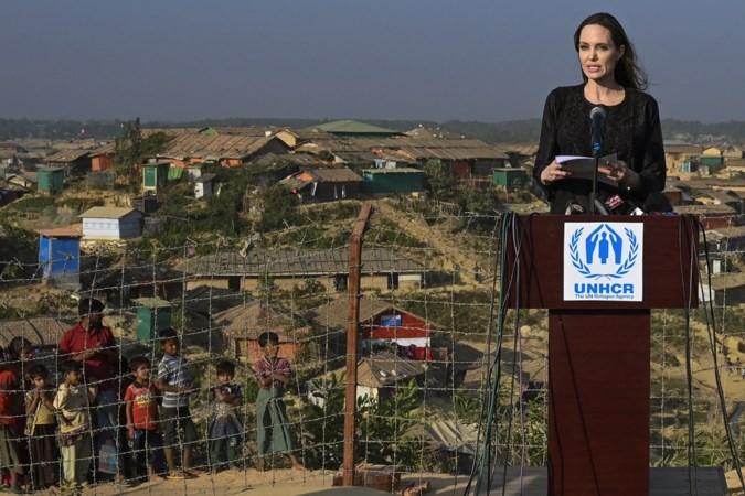 Angelina Jolie vraagt aandacht voor Rohingya-vluchtelingen