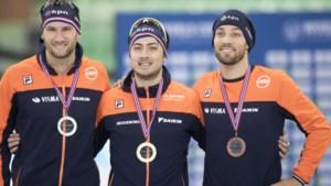 Verbij wint goud op 1000 meter, podium volledig oranje