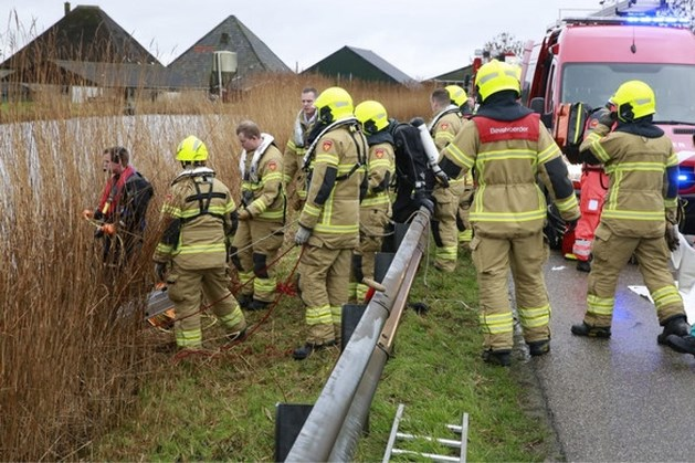 Vier doden in te water geraakte auto in Obdam