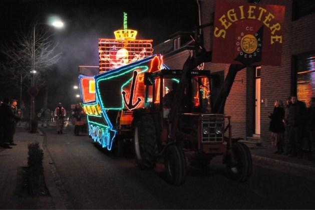 Lichtstoet van carnavalsvereniging de Brakkelerre krijgt nieuwe route