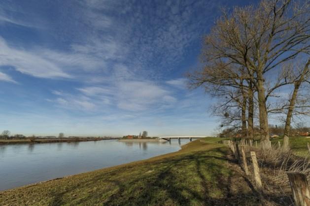 Hoogwater verandert natuurgebied bij Visserweert