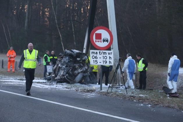 Drie doden door ongeluk op de A59 bij Rosmalen