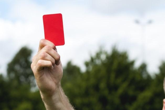 Vier rode kaarten in één wedstrijd voor Walram