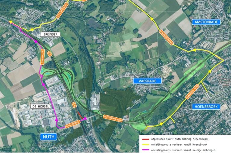 A76 gaat dicht voor plaatsen bruggen Buitenring