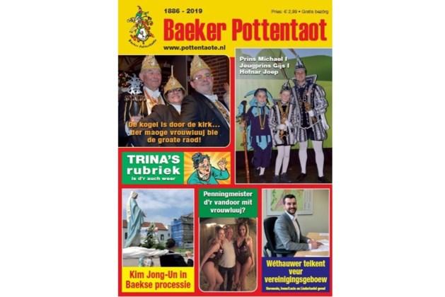 Vastelaovesgezèt Baeker Pottentaot ook online te koop