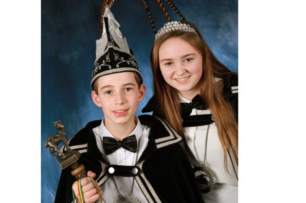 Nieuw jeugdprinsenpaar onthuld bij CV De Geiten