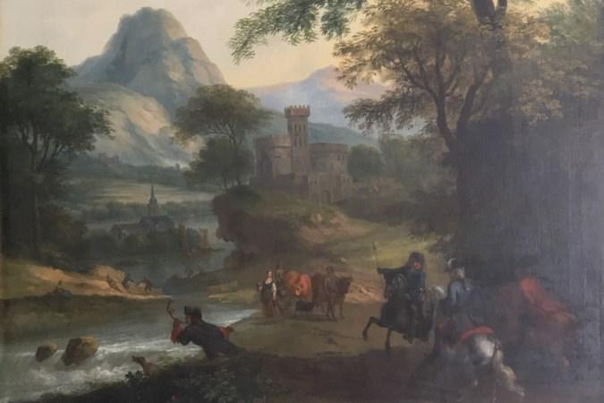 Restauratie wandpanelen Paleis Het Loo te zien tijdens Tefaf