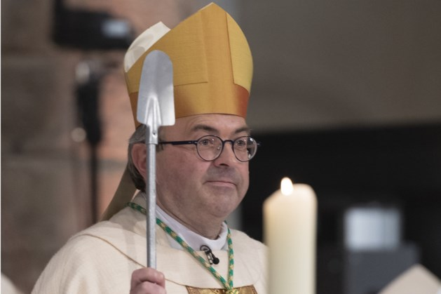 Bisschop Harrie Smeets op bezoek