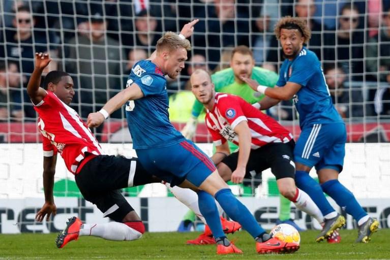 PSV ontwaakt te laat en morst ook tegen Feyenoord punten