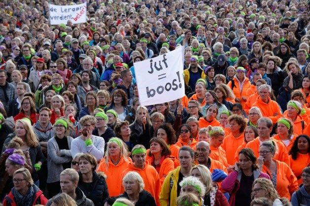 Veel Noord- en Midden-Limburgse basisscholen dicht door staking op 15 maart