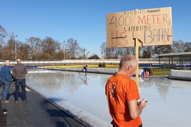Uurrecord schaatsen op recordwarme dag