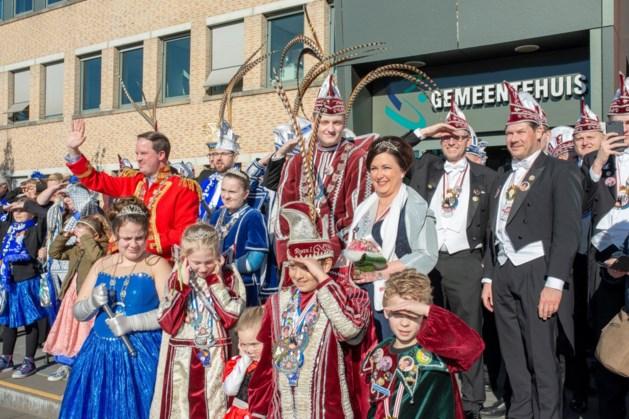 Carnavalsfeest barst in Simpelveld los