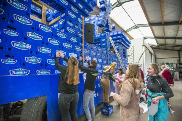 Binnen het uur een gekuiste versie van de Bavaria-carnavalswagen