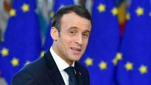 Franse president Macron: 'Europa was nog nooit zo in gevaar'