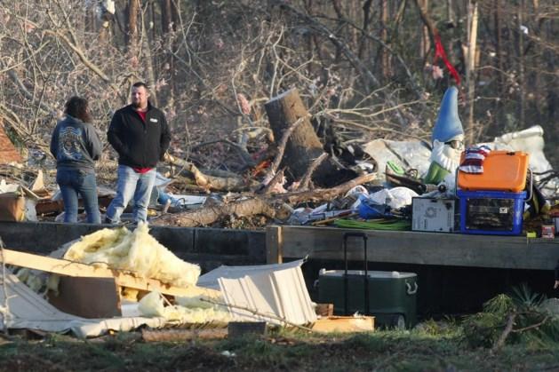 Zeven familieleden omgekomen door tornado
